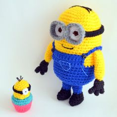 Are you a fan of the Despicable Me Minions? Want to make your own Minion? I've created a pattern for my favourite Minion, Dave!