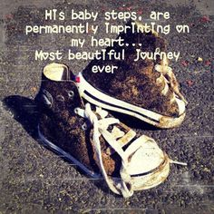 Baby steps Baby Steps, Converse Chuck Taylor, High Top Sneakers, Most Beautiful, Fashion, Pretty, Tennis, Pictures, Moda