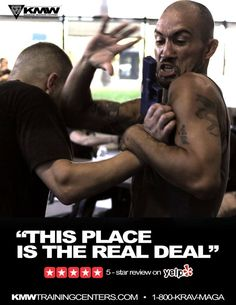 Handgun defense at Krav Maga Worldwide™
