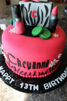 zebra print spa themed birthday cake 321 Its My Party And Ill Spa If I Want To Adult Birthday Cakes, 13th Birthday Parties, Themed Birthday Cakes, Birthday Ideas, 10th Birthday, Spa Party Cakes, Spa Cake, Teen Cakes, Girl Cakes