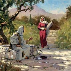 Jesus and the woman at the well by Freddy Winter -  There is a beautiful story in the Bible, that many of us are very familiar with. It is the story about Jesus meeting the woman at the well. This woman was a Samaritan.