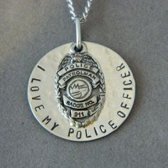 I love My Police Officer Please Keep Him/Her Safe by WireNWhimsy, $30.00