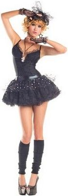 Madonna Material Pop Star Costume (more details at Adults-Halloween-Costume.com) #madonna #halloween #costumes