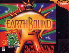 EarthBound for Super NES - Very quirky/interesting game. One of the greatest RPGs out there