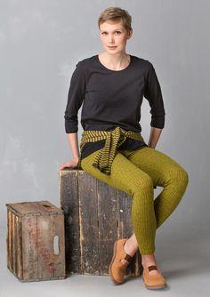 "Legging ""Barbro"" van lyocell/elasthaan–Gudruns groene keuze–GUDRUN SJÖDÉN – Kleding Online & Postorder"