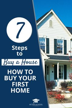 Learn how to buy a house in 7 simple steps. We'll walk you through this complex process so you know exactly what to expect! #homebuying #buyahouse #mortgagetips Investing Money, Real Estate Investing, Saving Money, Home Buying Tips, Buying Your First Home, Home Appraisal, Private Mortgage Insurance, Mortgage Tips