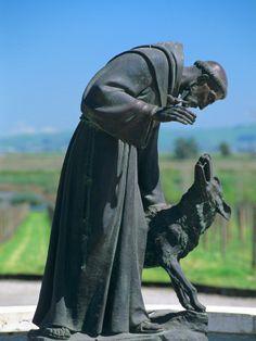 San Francisco y el lobo de Gubbio Hermosa historia de fe