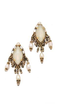Erickson Beamon Girlie Queen Earrings