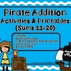 Are you looking for activities to help your students build math fact fluency?  If so, this resource may be just what you need.  The pirate themed a...