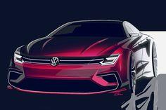 Auf der Peking Auto Show zeigt Volkswagen eine Coupé-Studie. Der Viertürer ist kürzer als ein Jetta, aber breiter als ein Passat und hat 220 PS.