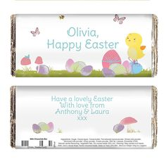 Personalised easter meadow chick candle the hut market easter meadow chick chocolate bar 100g give a personalised gift from the heart this easter negle Choice Image