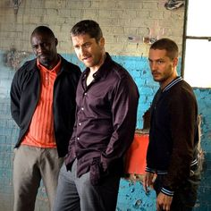 Tommy as Handsome Bob & Gerard Butler & Idris Elba - Rock`N`Rolla (2008) / TH0054