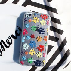Soft Jelly Clear Design Phone Case - Dog Dog Dog