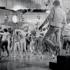 Dancing a go-go http://www.youtube.com/watch?v=Kzuz8gaUyNA