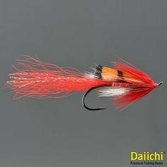 4 x Yellow Cosseboom Fly Fishing Streamer Wet Flies For Salmon Steelhead Trout