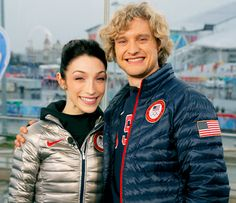 """Meryl Davis and Charlie White Would """"Love"""" to Join Dancing With the Stars after Working WIth Derek Hough"""
