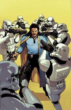 Billy Dee Williams may not be in Star Wars: The Force Awakens, but Star Wars is far from done with Lando Calrissian! This July, Marvel Comics is giving Lando Star Wars Film, Star Wars Books, Star Wars Fan Art, Star Trek, Star Wars Comics, Marvel Comics, Starwars, Lando Calrissian, Love Stars