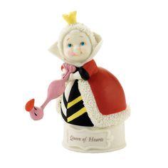 Disney Department 56 Queen of Hearts Alice in Wonderland Snowbabies