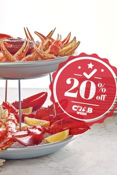 Don't let this tasty opportunity sail you by! Crab Week only lasts 3 more days, so hurry up and order your favorite crab🦀 dish today. Use promo code CRAB WEEk and get 20% off.  #LobsterGram #CrabWeek Lobster Gram, Lobster Pot Pies, Seafood Dinner, Fresh Seafood, Crab Legs For Sale, Frozen Lobster Tails, Shrimp Cocktail Sauce, Maryland Style Crab Cakes, Alaskan King Crab
