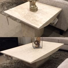 Monaco Marble Coffee End Table Scandinavia inc Metairie New Orleans  Louisiana contemporary modern furniture