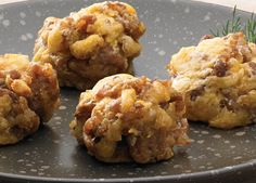 Johnsonville Sausage Balls - Johnsonville.com - add some scrambled egg and you've got a great little breakfast ...