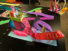 smART Class: Roller Coaster Paper Sculpture