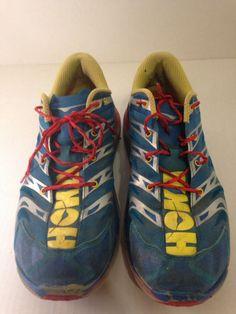 3c0a8a2f245 HOKA One One Speedgoat Mens Trail Running Hiking Shoe 1008852 Vibram Size  12  HokaOneOne Hiking