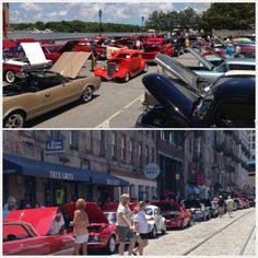 Car show on River St!!