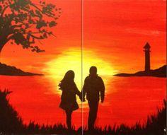 A Sunset Stroll - Pinot's Palette