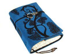 Diario cuero diario cuaderno árbol del remolino por Kreativlink
