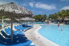 Stunning pools at Melia Las Dunas resort - Cayo Santa Maria, Cuba. Santa Maria Cuba, Air Hotel, Hotel Packages, Vacation Resorts, All Inclusive, Pools, Places Ive Been, Cruise, January