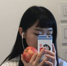 Uploaded by blside. Find images and videos about white, blue and red on We Heart It - the app to get lost in what you love. Aesthetic Hair, Bad Girl Aesthetic, Aesthetic People, Korean Girl, Asian Girl, Tumbrl Girls, Japanese Aesthetic, Foto Pose, Ulzzang Girl