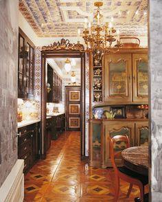 Howard Slatkin's apartment. Fifth Avenue Style. -via Interior Canvas