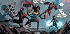 Kamala Khan: The Success of Marvel's First Muslim Superhero Series Superhero Series, Marvel Series, Captain Marvel, Marvel Dc, Civil War Comic, Ms Marvel Kamala Khan, Mundo Marvel, Best Hero, New Details