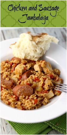 Chicken and Sausage Jambalaya | Renee's Kitchen Adventures: A New Orleans classic!