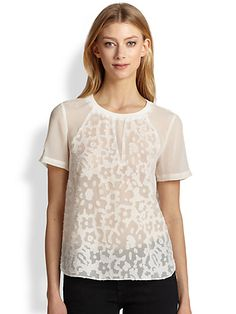Women's Apparel-Tops-Blouses-Saks.com