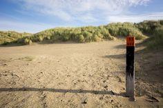 Fotobehang: Het strand van Rockanje