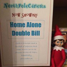 2015 - Day 13: Loki wanted a Home Alone Day #OurElfOnTheShelf #ElfOnTheShelf #ChristmasMovies