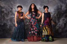 елена смирнова, валяное платье, шелкография, обучение