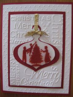 family Christmas using old su stamp