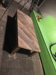 """#pallet #wooden #table at """"de Kempvis"""""""
