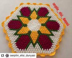 Pot Holders, Elsa, Blanket, Knitting, Crochet, Instagram, Crochet Carpet, Farmhouse Rugs, Tejidos