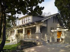 Craftsman style - Porter Street Bungalow - traditional - exterior - dc metro - by Moore Architects, PC
