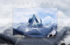 Medialoot - Polyscape Generator Photoshop Mockups
