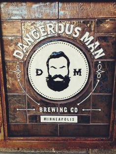 Dangerous Man Brewery, opened winter 2013 in Nordeast Minneapolis.