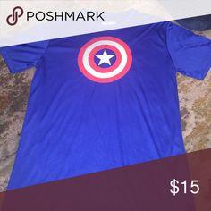 NWOT DriFit Marvel Tshirt NWOT DriFit Marvel- Captain America Tshirt Marvel Shirts Tees - Short Sleeve