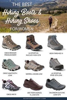 Hiking Boots: How to Choose the Right Pair + the Best Women's Hiking Boots