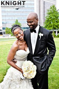 FAB! Ross Oscar Knight Photography African American, Black Bride & Groom, Black Love - Black • L❤VE