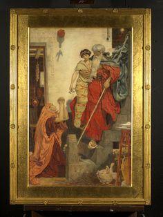 Ford Madox Brown Elijah restoring the Widows son Figuring Fanny Eaton as the Widow (Pharyah)