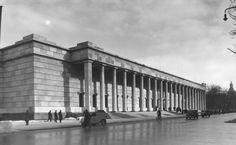 Haus der Deutschen Kunst (Casa del Arte Alemán, 1933-37). Paul Ludwig Troost (Alemania, 1878-1934).